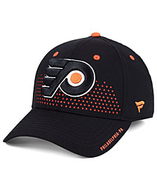 Authentic NHL Headwear Philadelphia Flyers Draft Structured Flex Cap