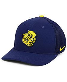 Nike Michigan Wolverines Col Aro Swooshflex Cap