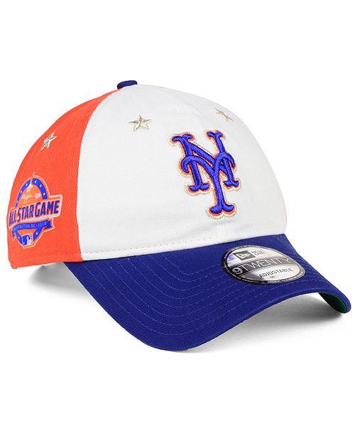 new arrival 536b7 8ec47 ... New Era New York Mets All Star Game 9TWENTY Strapback Cap 2018 ...