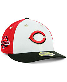 New Era Cincinnati Reds All Star Game Patch Low Profile 59FIFTY Fitted Cap 2018