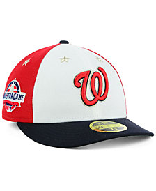 New Era Washington Nationals All Star Game Patch Low Profile 59FIFTY Fitted Cap