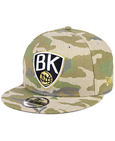 New Era Brooklyn Nets Combo Camo 9FIFTY Snapback Cap