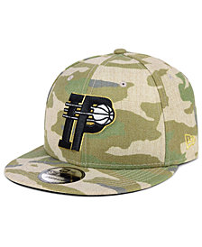 New Era Indiana Pacers Combo Camo 9FIFTY Snapback Cap