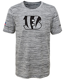 Nike Cincinnati Bengals Velocity Legend Travel T-Shirt, Big Boys (8-20)