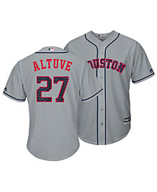 Majestic Men's Jose Altuve Houston Astros Stars & Stripes Cool Base Jersey