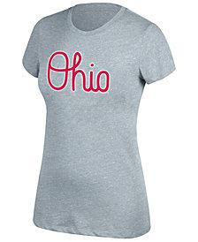 J America Women's Ohio State Buckeyes Twisted Slub T-Shirt