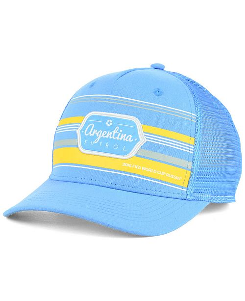 bd523d4fbb2 Top of the World Argentina World Cup Route Snapback Cap 2018 ...