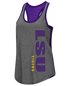 Colosseum Women's LSU Tigers Share It Racerback Tank