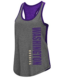 Colosseum Women's Washington Huskies Share It Racerback Tank