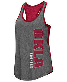 Colosseum Women's Oklahoma Sooners Share It Racerback Tank