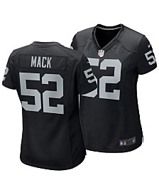 Nike Women's Khalil Mack Oakland Raiders Game Jersey