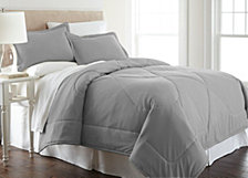 Micro Flannel® King Solid Color Comforter Mini Set