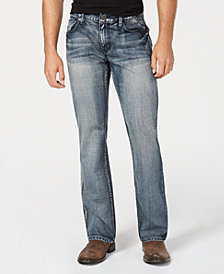 I.N.C. Men's Wesley Boot-Cut Jeans, Created for Macy's