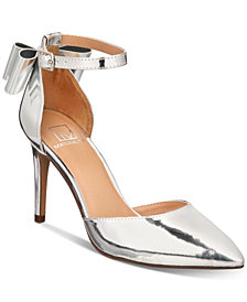Material Girl Pamer Ankle-Strap Pumps, Created for Macy's