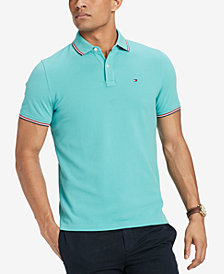 Tommy Hilfiger Men's Burns Custom Fit Polo, Created for Macy's