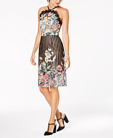 foxiedox Floral-Print Sheath Dress