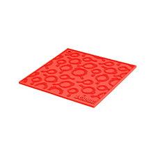 "Lodge 7"" Square Silicone Skillet Pattern Trivet"