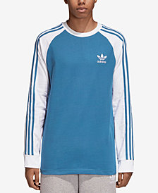 adidas Men's Adicolor Raglan-Sleeve T-Shirt