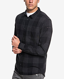 Quiksilver Men's Motherfly Check Flannel Shirt