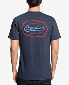 Quiksilver Men's Live On The Edge Logo Graphic T-Shirt