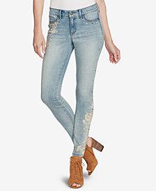 Jessica Simpson Juniors' Mateo Kiss Me Super-Skinny Jeans