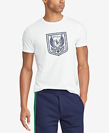 Polo Ralph Lauren Men's Custom Slim Fit Shield Cotton T-Shirt