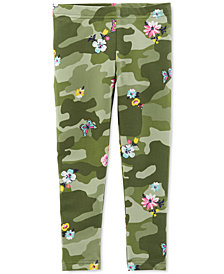 Carter's Toddler Girls Floral Camo Leggings