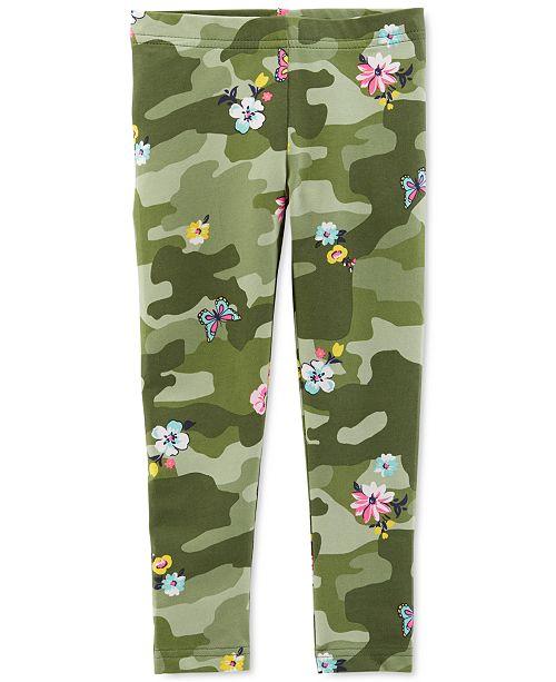 d9e87e4902618 Carter's Toddler Girls Floral Camo Leggings & Reviews - Leggings ...