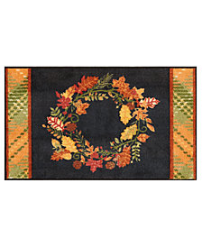 "Nourison Wreath 18"" x 30"" Accent Rug"