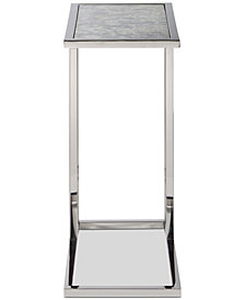 Elsmore Contemporary Side Table, Quick Ship