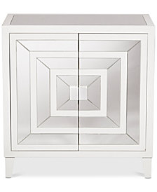 Londonderry Overlay Door Chest, Quick Ship