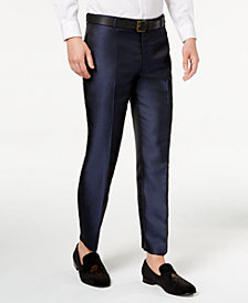 I.N.C. Men's Slim-Fit Peacock Pants, Created for Macy's