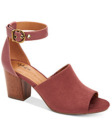 Style & Co Priyaa Block-Heel Sandals, Created for Macy's