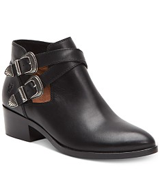 2d10fe8391192 Leather Ankle Boots: Shop Leather Ankle Boots - Macy's