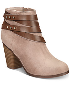Material Girl Mini Ankle Booties, Created for Macy's