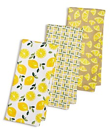 Martha Stewart Collection 3-Pc. Citrus Kitchen Towel Set, Created for Macy's