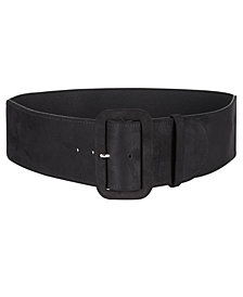 I.N.C. Faux-Suede Stretch Belt, Created for Macy's