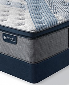 "iComfort by Blue Fusion 1000 14.5""  Hybrid Luxury Firm Euro Pillow Top Mattress Set - Queen Split"