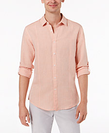 I.N.C. Men's Linen Shirt, Created for Macy's