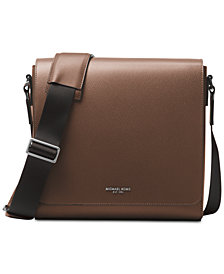 Michael Kors Men's Leather Medium Messenger Bag