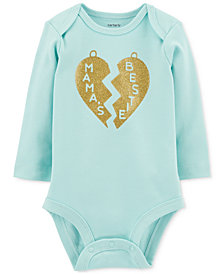 Carter's Baby Girls Heart Graphic Cotton Bodysuit