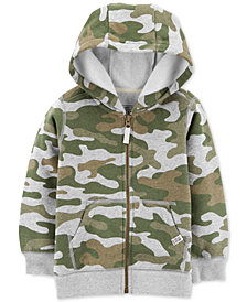 Carter's Toddler Boys Camo Graphic Print Hoodie