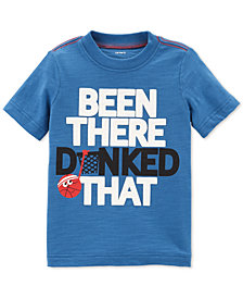 Carter's Toddler Boys Dunked-Print Cotton T-Shirt