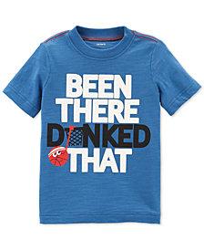 Carter's Toddler Boys Dunked-Print Cotton T-Shirt