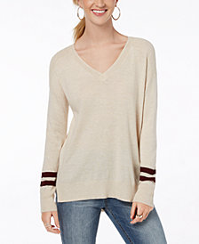 Hippie Rose Juniors' High-Low Sweater