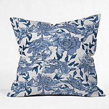 Deny Designs Holli Zollinger Summertime Indigo Throw Pillow