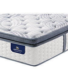 Serta Perfect Sleeper 14.75'' Glendower Firm Pillow Top California King Mattress with Adjustable Base