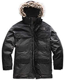 The North Face Men's McMurdo Parka III with Faux Fur Hood