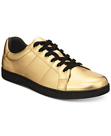 I.N.C. Men's Orion Metallic Low-Top Sneakers, Created for Macy's