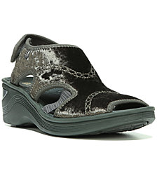 Bzees Drama Athleisure Wedge Sandals